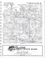 Elysian T109N-R24W, LeSueur County 1976
